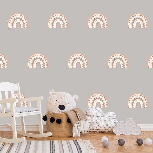 Rainbow Arch Mini in Desert Sun | WALL DECAL