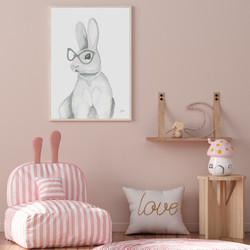 Frankie the Fancy Bunny