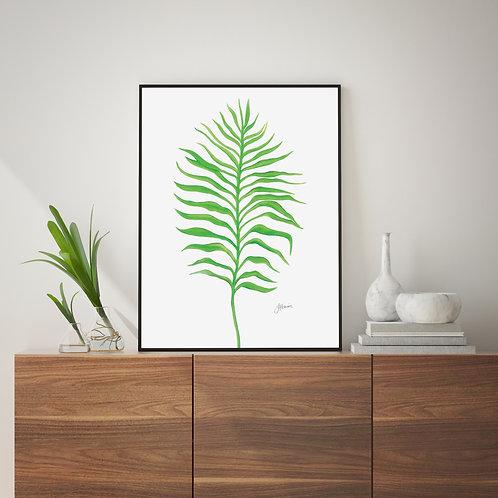 Tropical Fine Living Wall Art | FRAMED