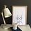 Thumbnail: Franklin the Boss Bunny Rabbit Fine Art Print | FRAMED