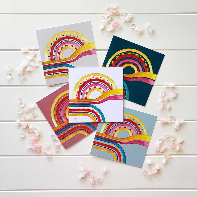 Little River Love Greeting Card packs