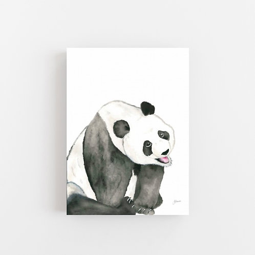 Layla the Panda Bear Wall Art | CANVAS