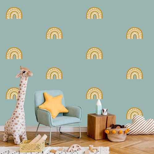 Rainbow Arch Mini in Mustard | WALL DECAL