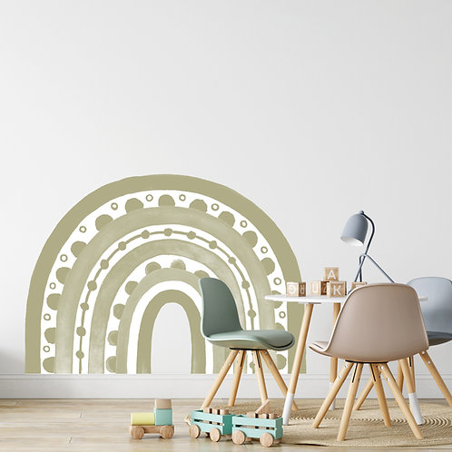 Rainbow Arch in Sage Green | WALL DECAL