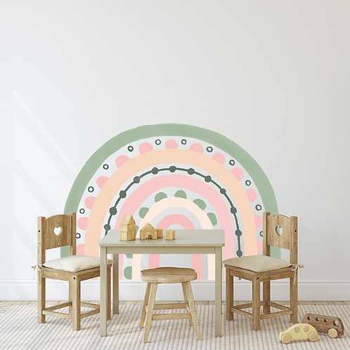 Rainbow Arch in Sherbert | WALL DECAL
