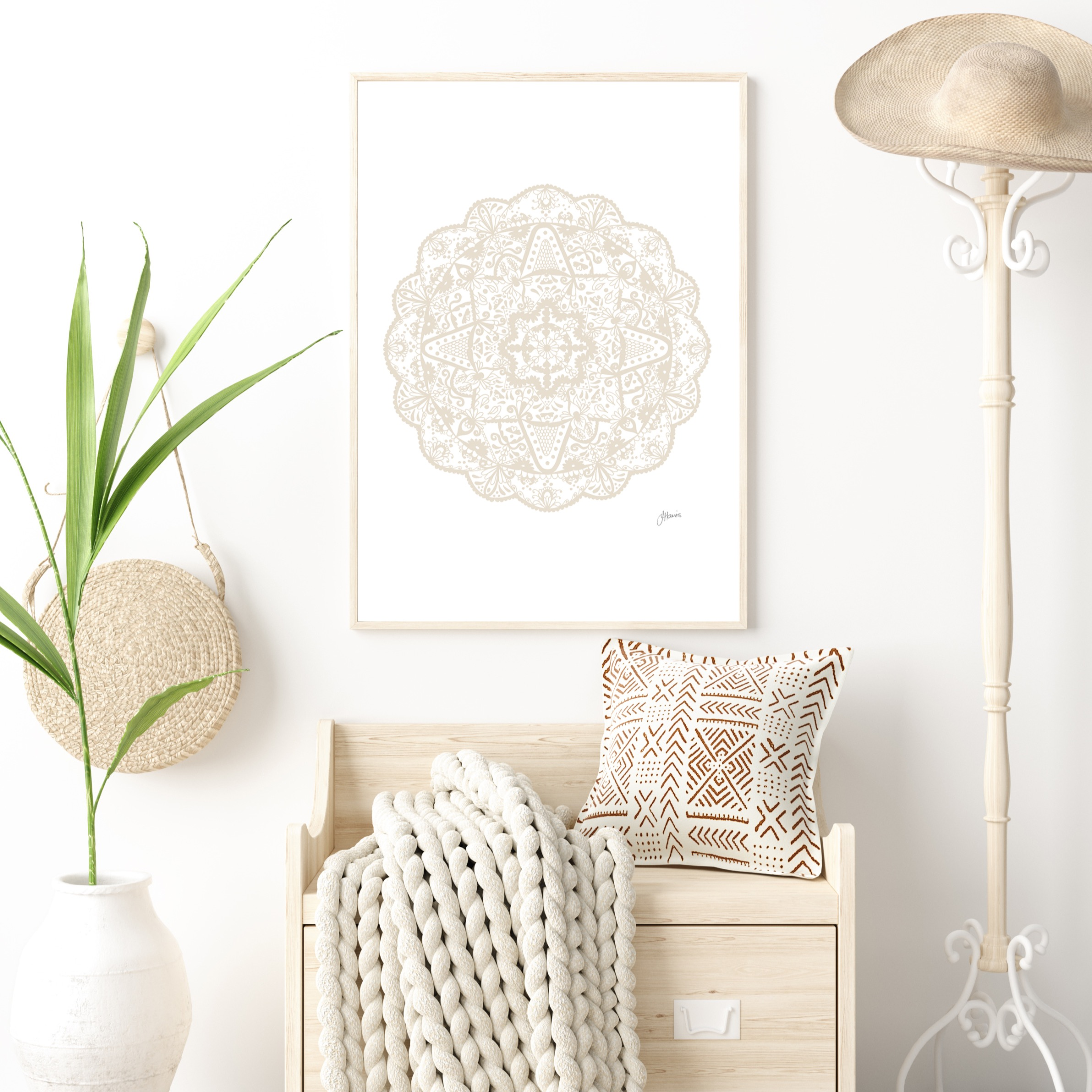 Marrakesh Decor in Ivory