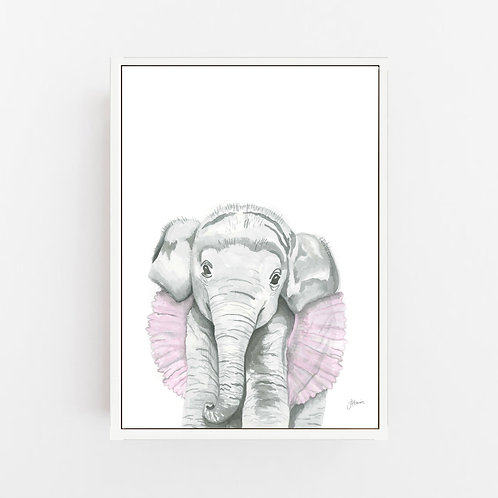 Lacey the Elephant Wall Art | CANVAS