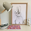 Thumbnail: Frankie the Fancy Bunny Rabbit Print