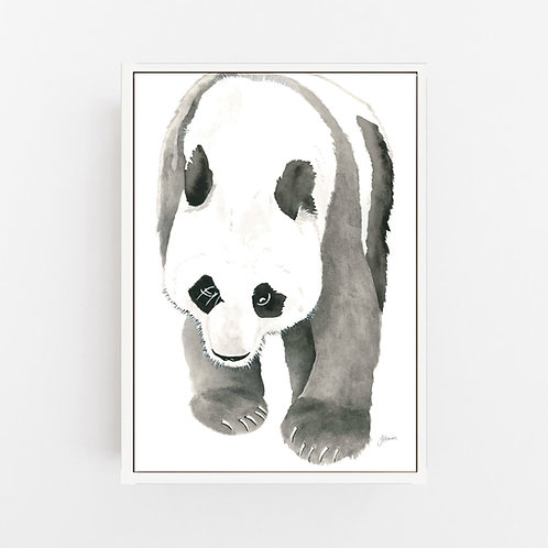 Bracey the Panda Bear Wall Art | CANVAS