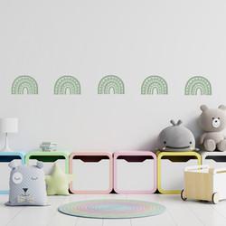Rainbow Arch Mini in Celedon Green | WALL DECAL