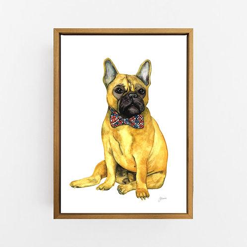 Anton the French Bulldog Wall Art | CANVAS