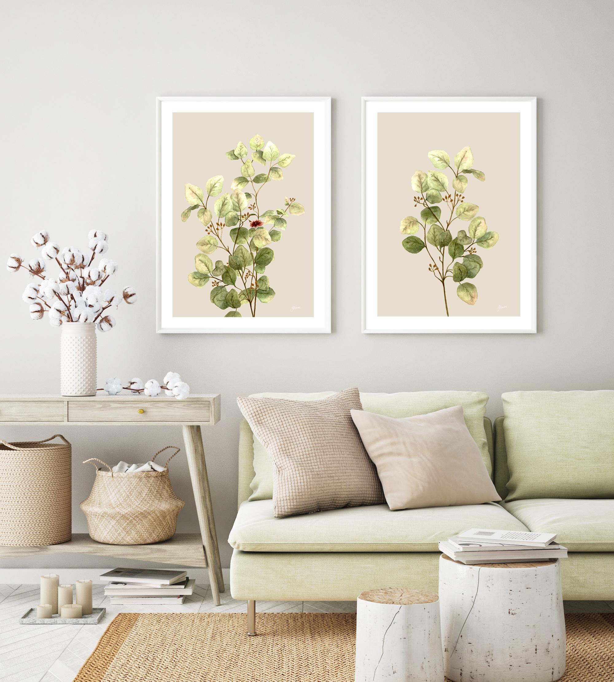 Eucalyptus Native Living Art