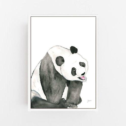 Layla the Panda Bear Wall Art | CANVAS