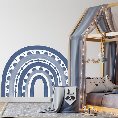 Rainbow Arch in Cornflower Blue | WALL DECAL