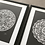 Thumbnail: Marrakesh Mandala Print in Solid Black