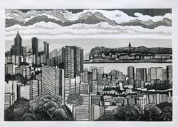 Durban City View Print