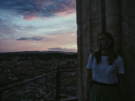 Sunsets in Florence, Italy / Fiana