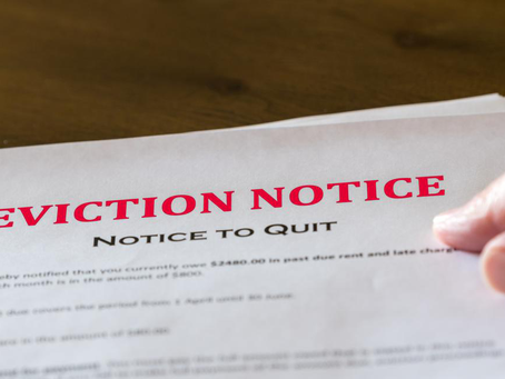 4 Things That Can Occur During Your Eviction