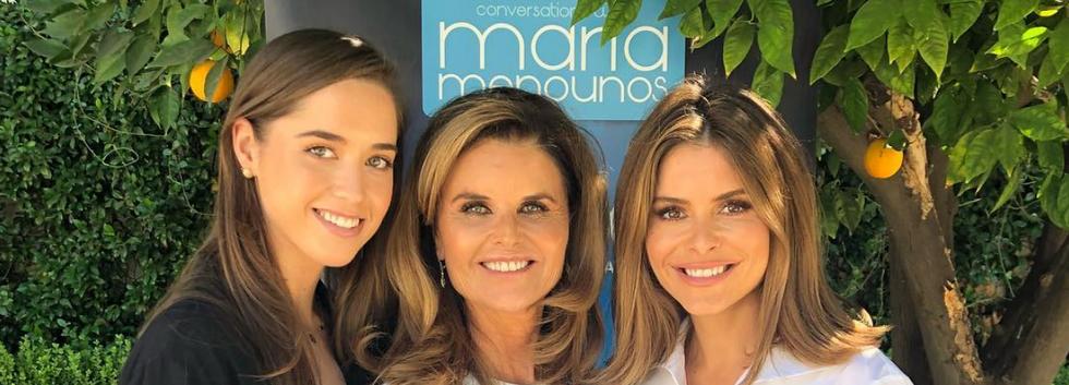 Maria Shriver, Maria Menounos & Christina Schwarzenegger