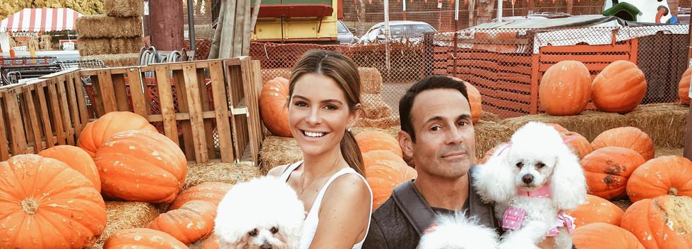 Pumpkin Patch Maria Menounos & Keven Undergaro