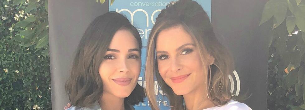 Olivia Culpo & Maria Menounos