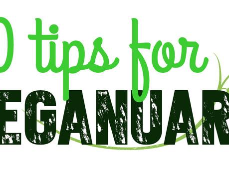 10 tips to help you through VEGANUARY!