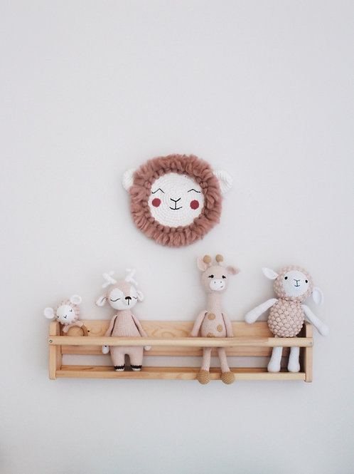 Lamby Wall Hanger