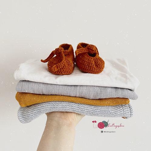Handmade Baby Bootie