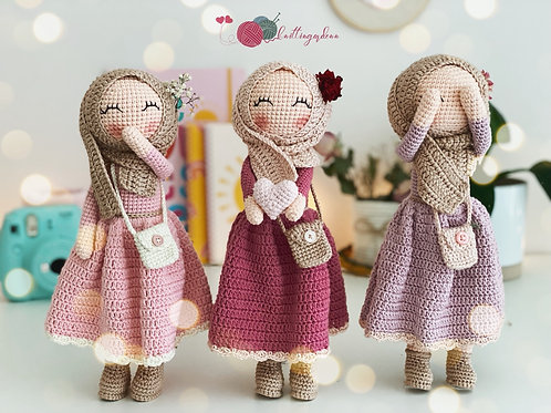 Handmade Hijabi Doll