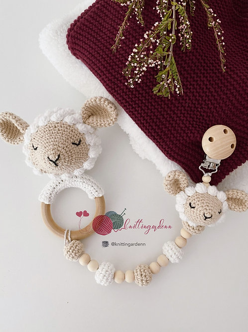 Lamby Teething Set