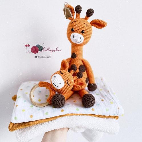 Safari Giraffe Toy