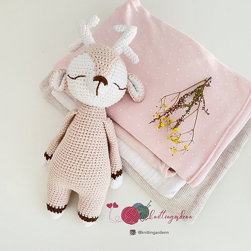 Lady Deer Soft Toy