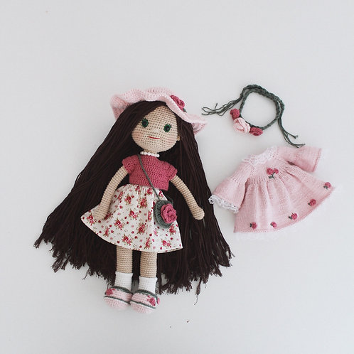 Flower Girl Doll (Custom Order Colours and Design)