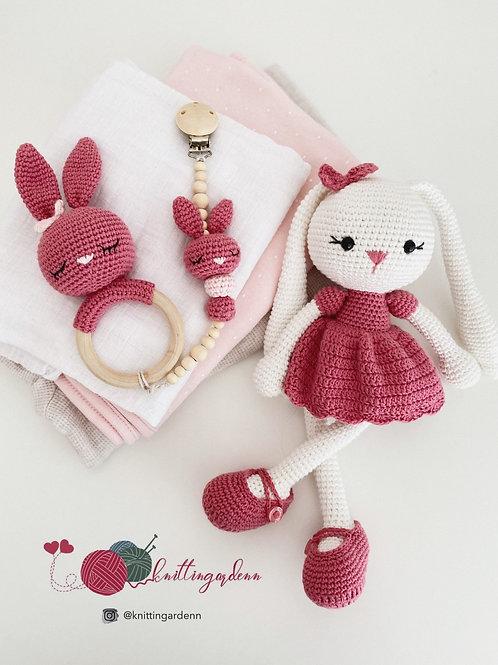Bunny with Long Ear Set