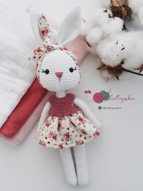 Bunny With Headband Soft Toy