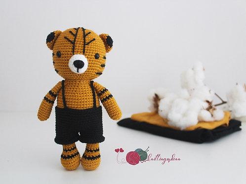Handmade Tiger Toy