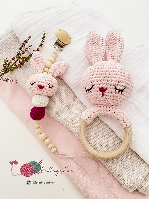 Bunny Teething Set