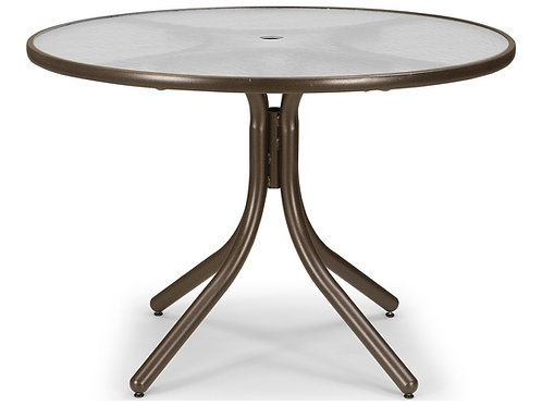 42 Round Glass Table