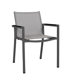 Amalfi Stackable Arm Dining Chair