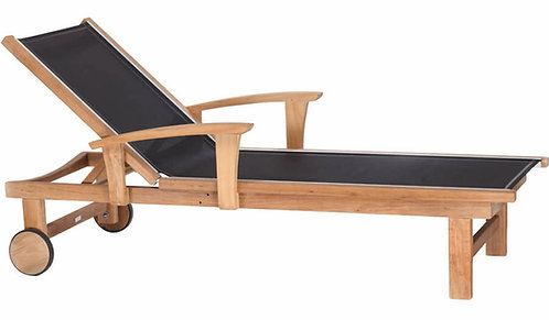 St. Tropez Chaise Lounge w/arms