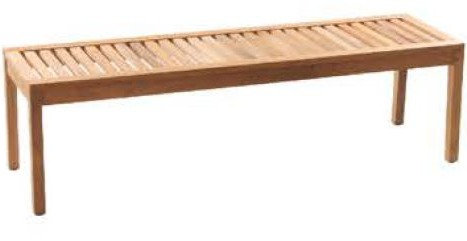 Corsica Backless Bench
