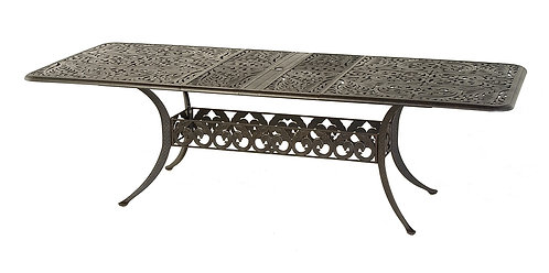 """Biscayne 100""""-76"""" Ext Dining Table 76"""" - 100"""" x 42"""""""