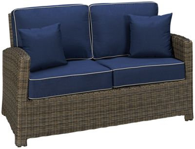 Deep Seating Wicker Loveseat, North Cape International Bainbridge, NCI Bainbridge, North Cape International Cabo, NCI Cabo, B
