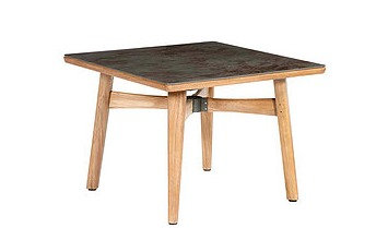 "Barlow Tyrie Monterey 39"" Square Dining Table"