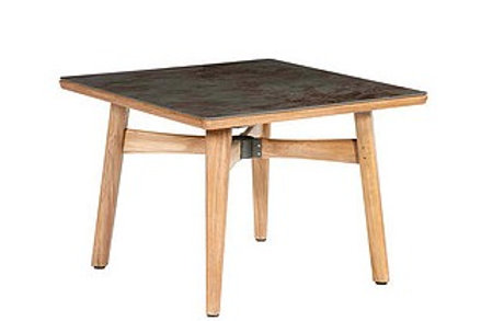 """Barlow Tyrie Monterey 39"""" Square Dining Table"""