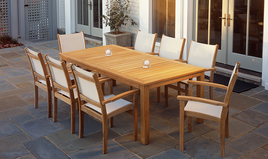 Kingsley Bate Sling Dining Set