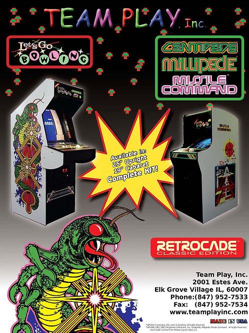Centipede/Millipede/Missile Command