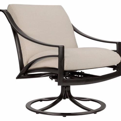 Brown Jordan Pasadena Cushion Swivel Motion Lounge Chair