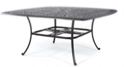 """Molise 64"""" Sq Dining Table"""