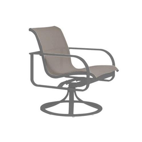 Brown Jordan Quantum Swivel Dining Chair